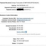 Důkaz platby BACKLINKS