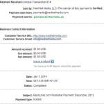 Backlinks důkaz platby 11