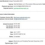 Backlinks důkaz platby 4
