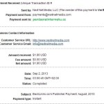 Backlinks důkaz platby 9