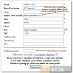 CSKLIK PARTNER registrace 1