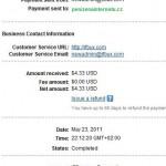 Důkaz platby IFBUX