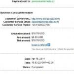 Důkaz platby INCRASEBUX
