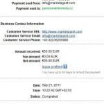 Důkaz platby MARKETAGENT