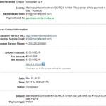 MARKETAGENT důkaz platby 5