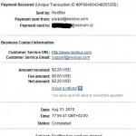 Důkaz platby NEOBUX