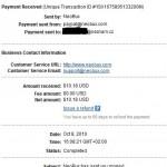 Neobux důkaz platby 2