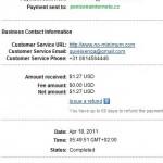 Důkaz platby NO-MINIMUM