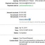 Důkaz platby ONSEARCHIA