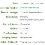 Důkaz platby PAYONLY2