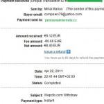 Důkaz platby WEPCLIX